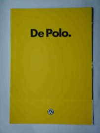 Volkswagen Polo  Brochure 83 #1 Nederlands