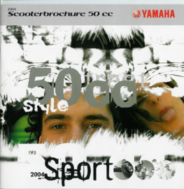 Yamaha Scooter 50 CC Brochure .04 #1 Nederlands