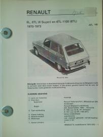 Renault 6  Vraagbaak ATH 70-73 #1 Nederlands