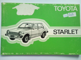 Toyota Starlet  Instructieboekje 78 #2 Nederlands