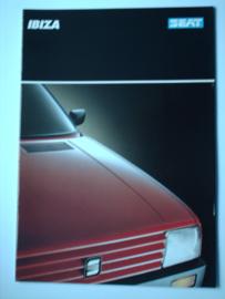 Seat Ibiza  Brochure 88 #2 Nederlands