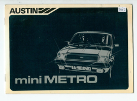 Austin Metro  Instructieboekje 81 #2 Nederlands