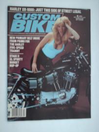 Costum Bike Choppers Tijdschrift 1983 Juli #1 Engels