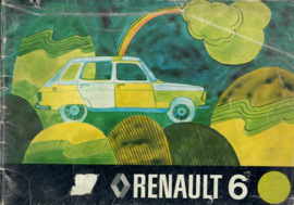 Renault 6  Instructieboekje 73 #1 Nederlands