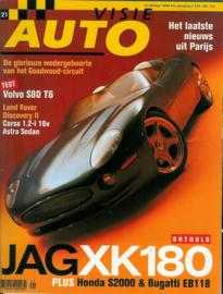 Autovisie   Tijdschrift 1998 NR 21 #1 Nederlands