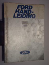 Ford Alle Modellen  Instructieboekje 78 #2 Nederlands