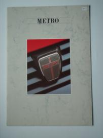 Austin Metro  Brochure 87 #4 Nederlands