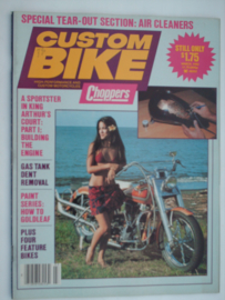 Costum Bike Choppers Tijdschrift 1982 Maart #1 Engels
