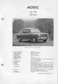 Morris 1100  Vraagbaak ATH 62-63 #4 Nederlands