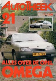 Opel Omega A  Brochure 86 #5 Nederlands