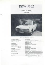 DKW F102  Vraagbaak ATH 64-66 #4 Nederlands