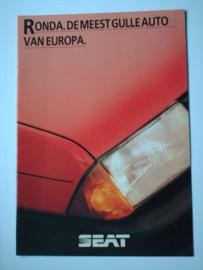 Seat Ronda  Brochure 83 #1 Nederlands