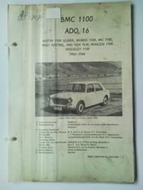BMC 1100 Ado 16 Vraagbaak ATH 62-66 #3 Nederlands