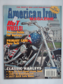 American Iron Tijdschrift 1995 Maart #1 Engels