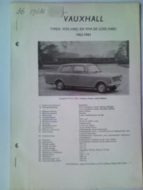 Vauxhall Viva  Vraagbaak ATH 63-64 #3 Nederlands