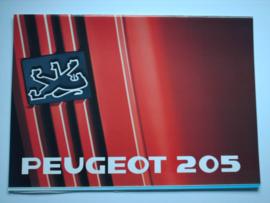 Peugeot 205  Brochure 89 #1 Nederlands