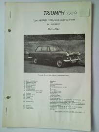 Triumph Herald 1200 S