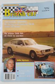 Britich Car Magazine  1996 NR 07 Tijdschrift  #1 Nederlands