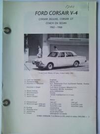 Ford Corsair V4  Vraagbaak ATH 65-66 #1 Nederlands
