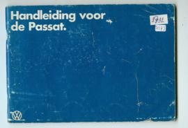 Volkswagen Passat  Instructieboekje 80 #2 Nederlands