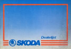 Skoda   Dealerlijst 87 #2 Nederlands