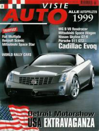 1999 Autovisie NR 02 tijdschrift