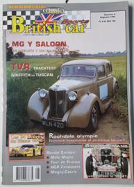 Britich Car Magazine  1996 NR 08 Tijdschrift  #2 Nederlands