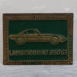 SP0304 Speldje Lamborghini 350 GT [groen]