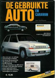 De gebruikte auto en caraven   Jaarboek 1987 #1 Nederlands