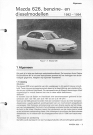 Mazda 626  Vraagbaak ATH 92-94  Nederlands