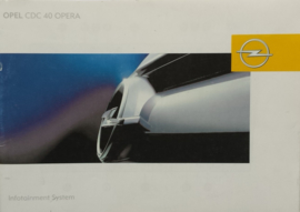 Opel Infotainmentsystem CDC 40 OPERA  Instructieboekje 2004 -01 #1 Nederlands