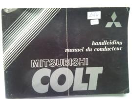 Mitsubishi Colt  Instructieboekje 79 #3 Nederlands Frans