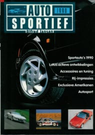 Auto Sportief   Jaarboek 1990 #1 Nederlands