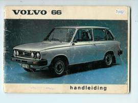 Volvo 66  Instructieboekje 78 #1 Nederlands