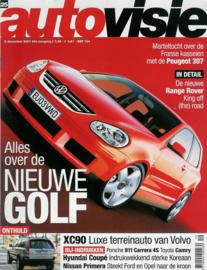 Autovisie   Tijdschrift 2001 NR 25 #1 Nederlands