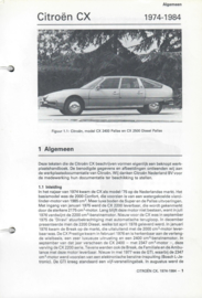 Citroen CX  Vraagbaak ATH 74-84 #1 Nederlands