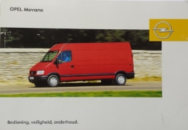 Opel Movano A  Instructieboekje 2005 -06 #1 Nederlands