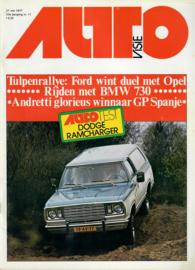 Autovisie Tijdschrift 1977 NR 11 #1 Nederlands