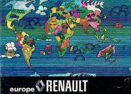 Renault   Dealerlijst 74 #1 Nederland Frans Engels Duits
