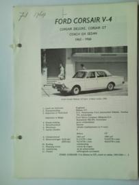 Ford Corsair V4  Vraagbaak ATH 65-66 #4 Nederlands