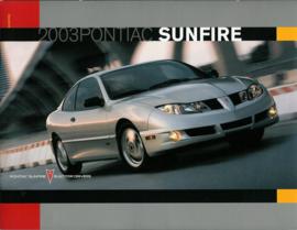 Pontiac Sunfire  Brochure .03 #1 Engels
