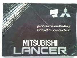 Mitsubishi Lance  Instructieboekje 90 #1 Nederlands Frans