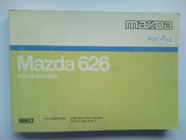 Mazda 626  Instructieboekje 88 #1 Nederlands