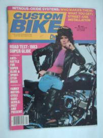 Costum Bike Choppers Tijdschrift 1983 Mei #1 Engels