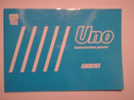 Fiat Uno  Instructieboekje 87 #2 Nederlands