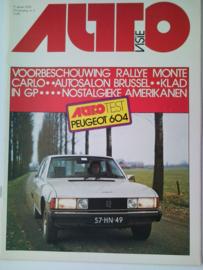 1976 Autovisie NR 02 tijdschrift