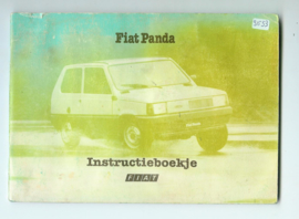 Fiat Panda  Instructieboekje 83 #1 Nederlands