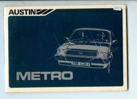 Austin Metro  Instructieboekje 83 #1 Frans