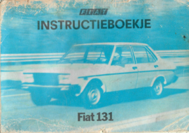 Fiat 131  Instructieboekje 78 #1 Nederlands