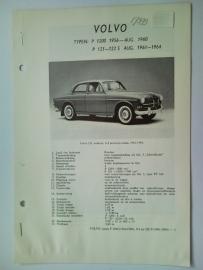 Volvo 1200 P121 P122S